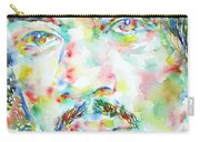 Jimi Hendrix Watercolor Portrait.1 Carry-all Pouch