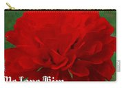 1 John 4 19 Floral Carry-all Pouch