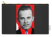 John Dillinger Mugshot January 25 1934 Taken By Tucson Police Department Carry-all Pouch