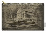 John Oliver Cabin In Cades Cove Carry-all Pouch