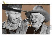 John Wayne Walter Brennan Publicity Photo Red River 1948-2013 Carry-all Pouch