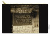 John Wayne's Prop Collection The Alamo Old Tucson Arizona 1967-2009 Carry-all Pouch
