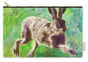 Joyful Hare Carry-all Pouch