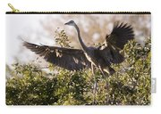 Juvenile Blue Heron Carry-all Pouch