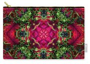 Kaleidoscope Made From An Image Of A Coleus Plant Carry-all Pouch