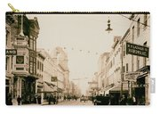 King Street In Charleston South Carolina Circa 1910 Carry-all Pouch