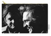 Kirk Douglas Laughing Johnny Cash Old Tucson Arizona 1971 Carry-all Pouch