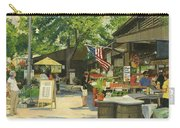 Kirkwood Farmers Market American Flag Carry-all Pouch
