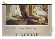 Kodak Advertisement, 1914 Carry-all Pouch