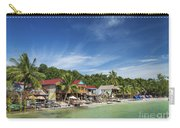 Koh Rong Island Beach Bars In Cambodia Carry-all Pouch