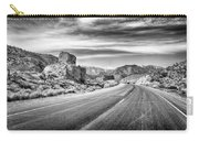 Kyle Canyon Road Carry-all Pouch by Howard Salmon
