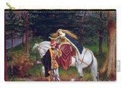 La Belle Dame Sans Merci Carry-all Pouch by Walter Crane
