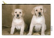 Labrador Retriever Puppies Carry-all Pouch