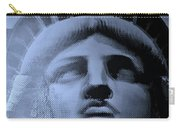 Lady Liberty In Cyan Carry-all Pouch