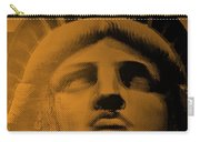 Lady Liberty In Orange Carry-all Pouch