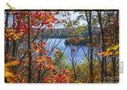 Lake And Fall Forest Carry-all Pouch