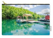 Lake Fontana Boats And Ramp In Great Smoky Mountains Nc Carry-all Pouch