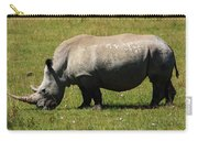Lake Nakuru White Rhinoceros Carry-all Pouch