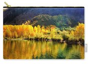 Lake Reflection In Fall  Carry-all Pouch