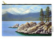 Lake Tahoe Sand Harbor Carry-all Pouch