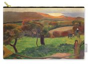 Landscape From Bretagne Carry-all Pouch