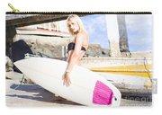 Landscape Surfing Portrait Carry-all Pouch