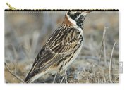 Lapland Longspur Carry-all Pouch