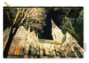 Large Stone Church At Night Carry-all Pouch