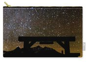 Last Dollar Gate And Milky Way Starry Carry-all Pouch