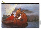 Last Of The Mohicans, 1919 Carry-all Pouch
