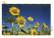 Laval, Quebec, Canada Sunflowers Carry-all Pouch