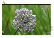 Lavender Globe Lily Carry-all Pouch