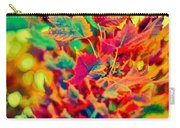 Leaves In Abstract Carry-all Pouch