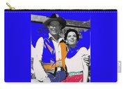 Leif Erickson Linda Cristal The High Chaparral Set Publicity Photo Old Tucson Arizona C. 1967-2012 Carry-all Pouch