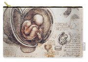 Leonardo: Human Fetus Carry-all Pouch
