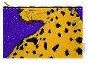 Leopard At Midnight Carry-all Pouch