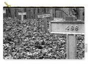 Letchworth Village Cemetery Carry-all Pouch