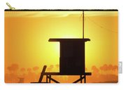 Lifeguard Tower On The Beach, Newport Carry-all Pouch