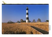 Lighthouse In A Field, Bodie Island Carry-all Pouch
