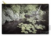 Lily Pads On Dark Water Carry-all Pouch