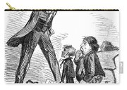 Lincoln Cartoon, 1865 Carry-all Pouch