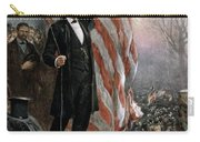 Lincoln Independence Hall Carry-all Pouch