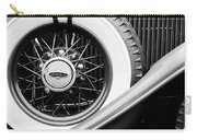 Lincoln Spare Tire Emblem Carry-all Pouch by Jill Reger