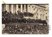 Lincoln's Inauguration, 1865 Carry-all Pouch