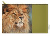 Lion Carry-all Pouch by David Stribbling