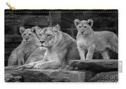 Lioness And Cubs Carry-all Pouch