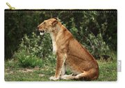 Lioness On The Masai Mara  Carry-all Pouch