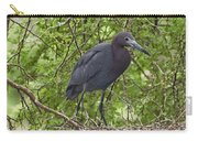Little Blue Heron Nesting Texas Carry-all Pouch