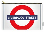 Liverpool Street  Carry-all Pouch