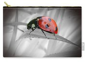 Lone Ladybug Carry-all Pouch